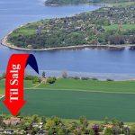 Landejendom udsigt til Isefjorden